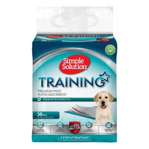 Simple Solution Premium Puppy Training Pads - 56 Pack