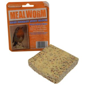 Suet To Go Suet Block in Tray - Mealworm