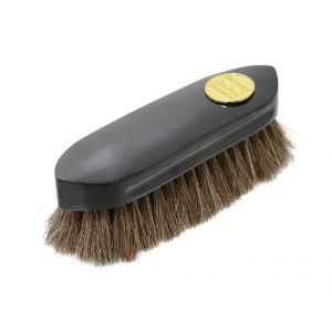 Supreme Products Perfection Horsehair Dandy Brush - Black