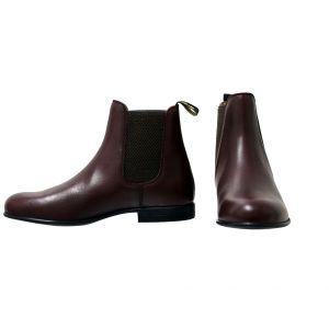 Supreme Products Show Ring Jodhpur Boots - Oxblood-Adults