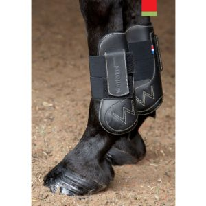 Whitaker Leather Tendon and Fetlock Boot Set