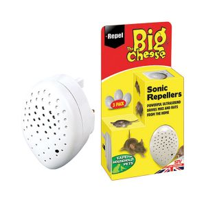 The Big Cheese Sonic Mouse & Rat Repeller x 3 Pack