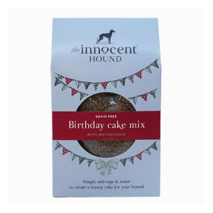 The Innocent Hound Birthday Cake Mix with British Duck - 255 Gm