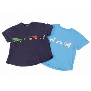 Shires Tikaboo Farmyard T.Shirt - Childs