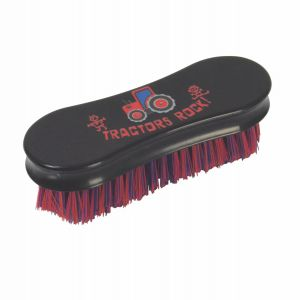Tractors Rock Face Brush by Hy Equestrian