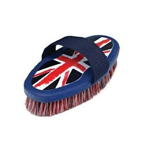 Cottage Craft Body Brush DM Union Jack