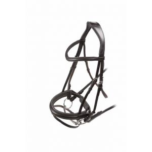 Shires Velociti Dressage Bridle with Flash