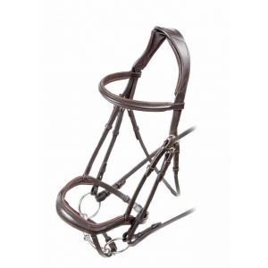 Shires Velociti Ergonomic Flash Bridle