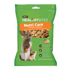VetIQ Healthy Bites Nutri Care for Small Animals - 30gm
