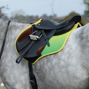 Weatherbeeta Prime Ombre All Purpose Saddle Pad - Sunflower Field