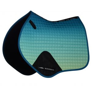 Weatherbeeta Prime Ombre Jump Saddle Pad - Oceans Reef
