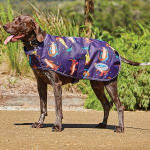 Weatherbeeta ComFITec Premier Free Parka Dog Coat - Otter Print