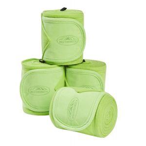 Weatherbeeta Fleece Bandage 4 Pack - Lime Green