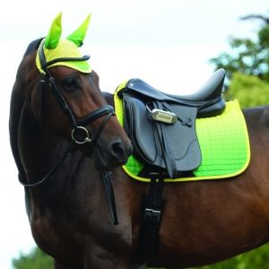 Weatherbeeta Prime Ombre Dressage Saddle Pad - Sunflower Field
