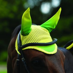 Weatherbeeta Prime Ombre Ear Bonnet - Sunflower Field