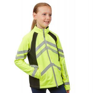 WeatherBeeta Reflective Softshell Fleece Lined Jacket - Childs