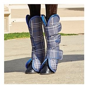 Weatherbeeta Wide Tabs Long Travel Boots