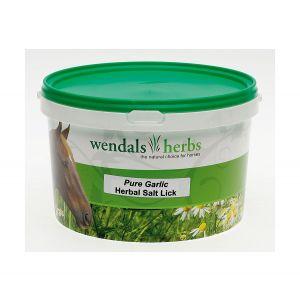 Wendals Pure Garlic Salt Lick - 3.5kg