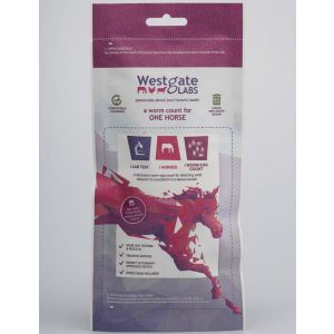 Westgate Laboratories Worm Count Kit for One Horse - New