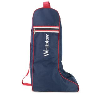 Whitaker Kettlewell Boot Bag - Blue/Red