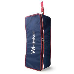 Whitaker Kettlewell Bridle Bag - Blue/Red
