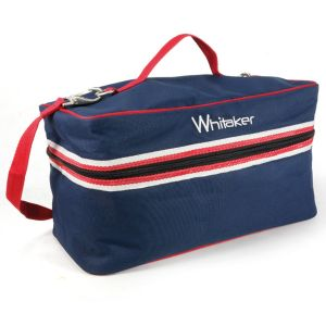 Whitaker Kettlewell Grooming Bag - Blue/Red